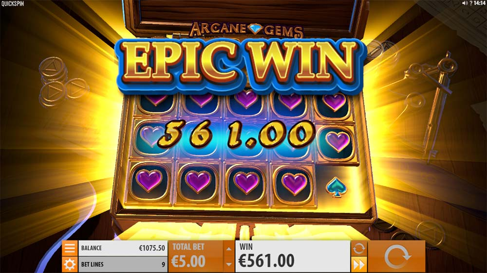 Arcane Gems Slot - Epic Win