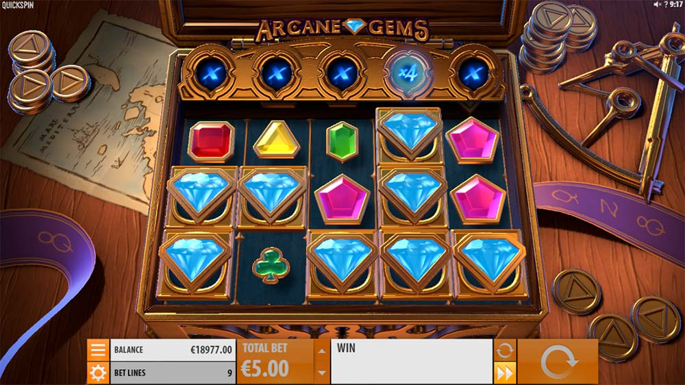 Arcane Gems Slot - Highest Paying Symbols