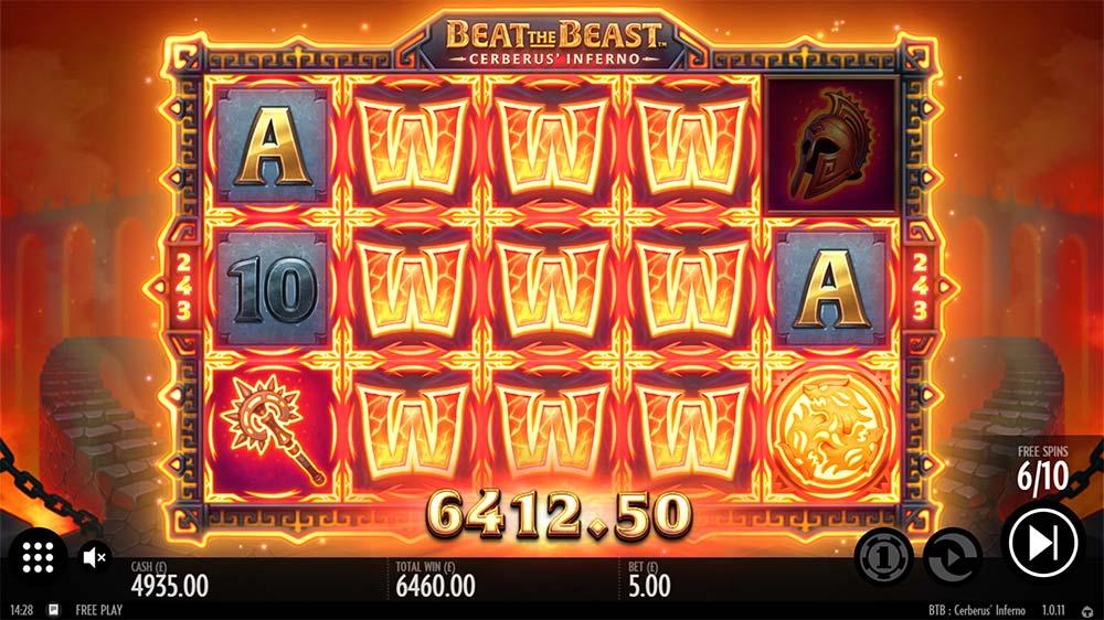 Beat the Beast Cerberus Inferno Slot - Huge Win
