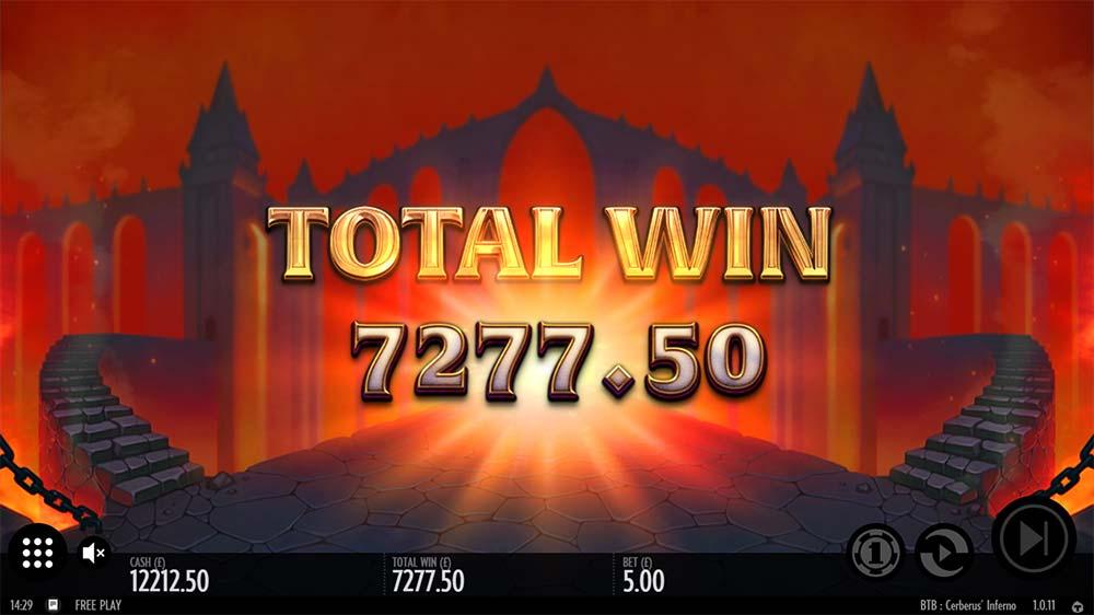 Beat the Beast Cerberus Inferno Slot - Bonus End