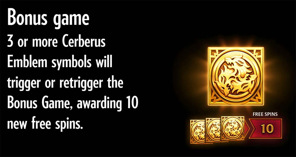 Beat the Beast Cerberus Inferno Slot - Bonus Feature