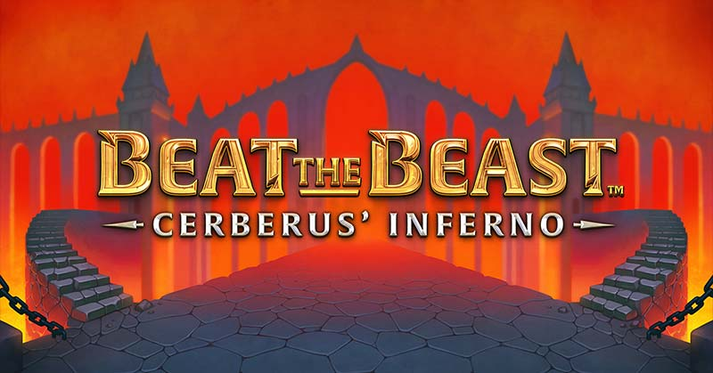 Beat the Beast Cerberus Inferno Slot Logo