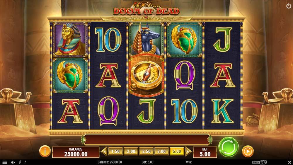 Doom of Dead Slot - Base Game