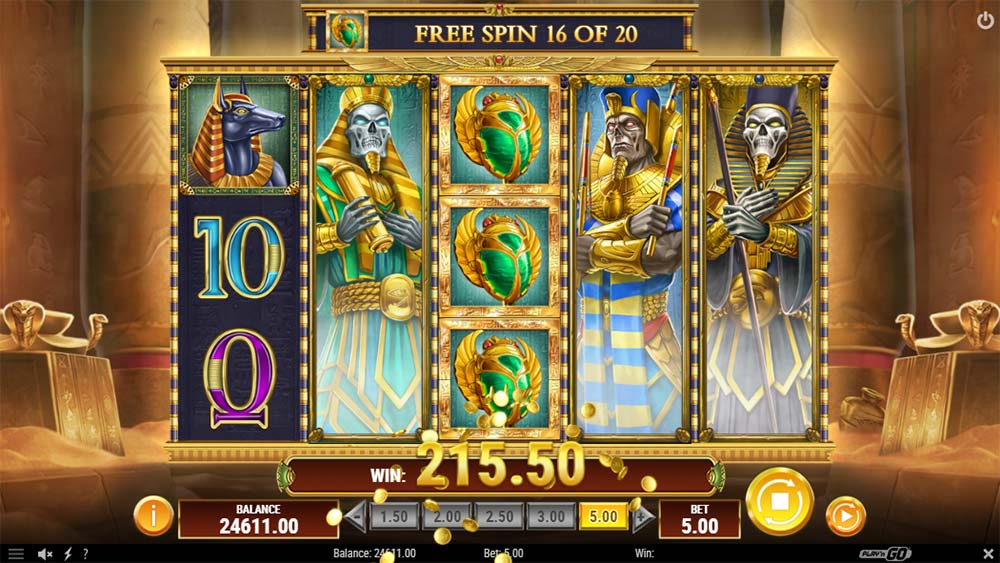 Doom of Dead Slot - Expanding Wilds