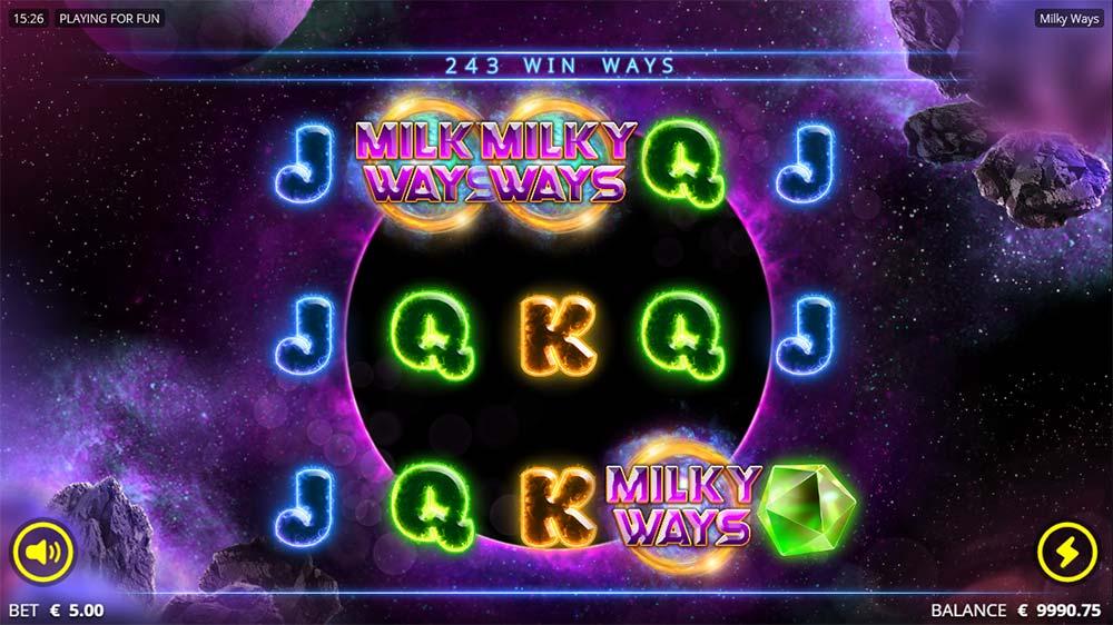 Milky Ways Slot - Bonus Trigger