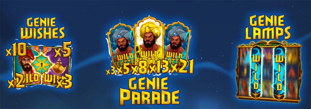 Golden Genie Slot - Special Features