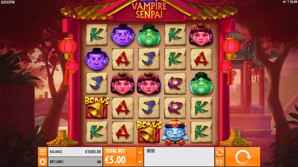 Vampire Senpai Slot - Base Game